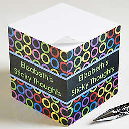 Bold Thoughts Paper Note Cube