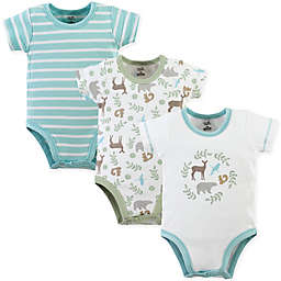 Touched by Nature 3-Pack Forest Organic Bodysuits