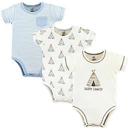 Touched by Nature 3-Pack Teepee Organic Bodysuits