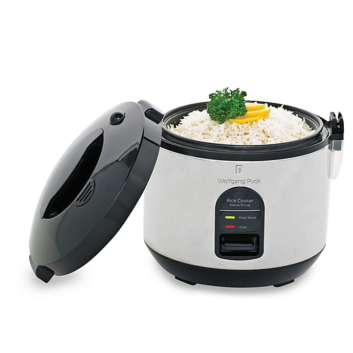 a9fd3964c Wolfgang Puck 10-Cup Rice Cooker with Removable Lid