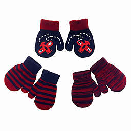 Toby Fairy™ Infant 3-Pack Airplane Gripper Mittens