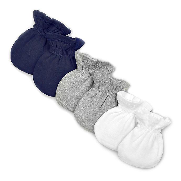 Alternate image 1 for Burt's Bees Baby® 3-Pack Organic Cotton Mittens