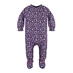 Burt's Bees Baby® Organic Cotton Dandelions Footed Coverall in Purple