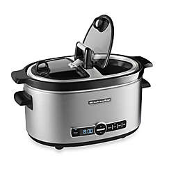 KitchenAid® 6-Quart Slow Cooker with Hinged Lid