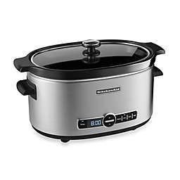 KitchenAid® 6-Quart Slow Cooker with Glass Lid