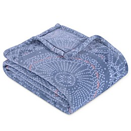 Equip Your Space Medallion Print Throw Blanket