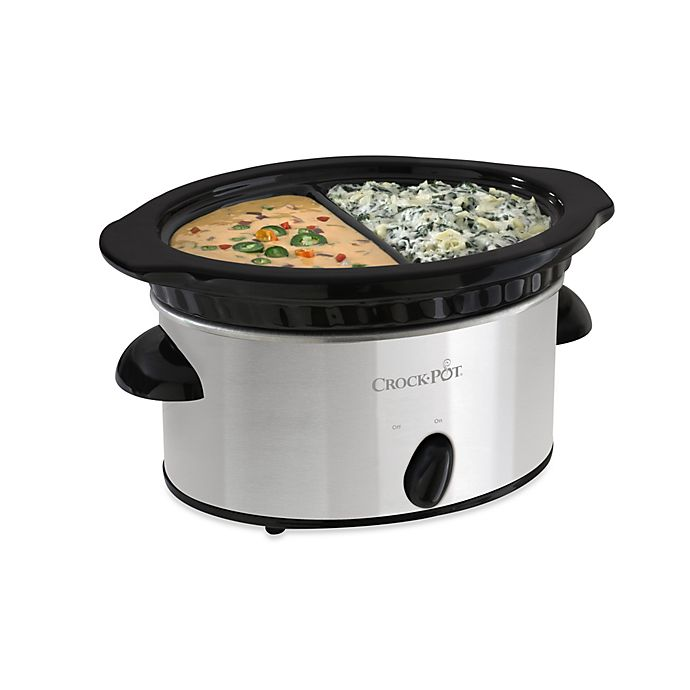 Alternate image 1 for Crockpot™ 4-Cup Double Dipper™ Food Warmer