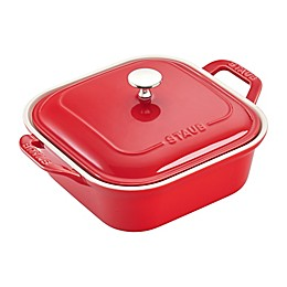 Staub 2.5 qt. Square Covered Baking Dish