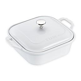 Staub 2.5 qt. Square Covered Baking Dish