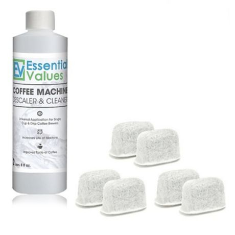 Essential Values Coffee Machine Descaler And Cleaner With