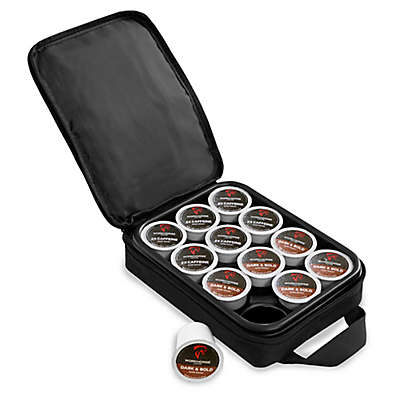 OXX Coffeeboxx Coffee Pod Carrying Case in Black