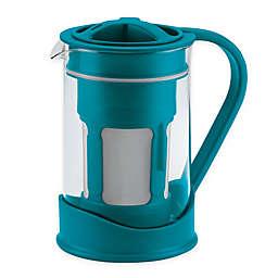 BonJour® 50.7 oz. Cold Brew Coffee Maker in Aqua