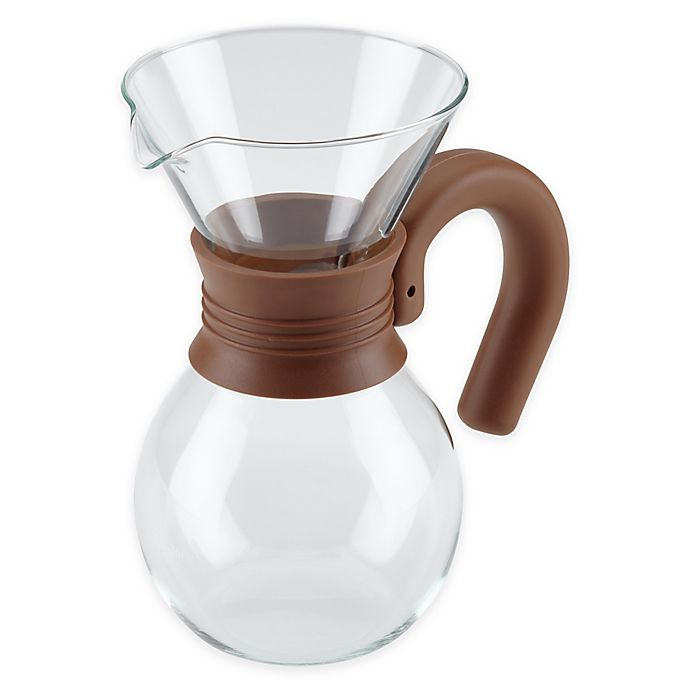 Alternate image 1 for Bonjour® 20 oz. Pour Over Coffee Brewer and Pitcher