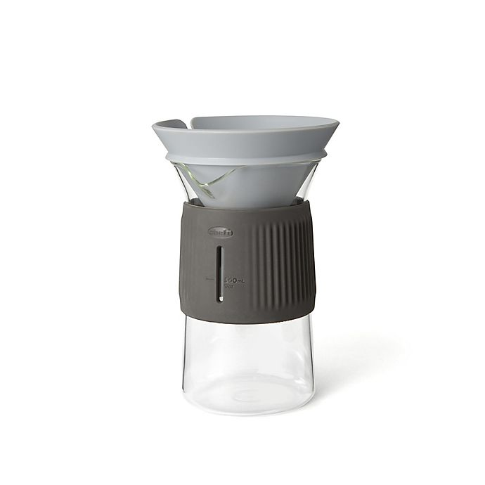 Alternate image 1 for Chef'n® Glass Pour-Over Coffee Cone & Carafe