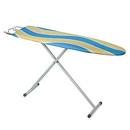 Honey-Can-Do® Deluxe Ironing Board with Retractable Iron Rest in Blue/Yellow