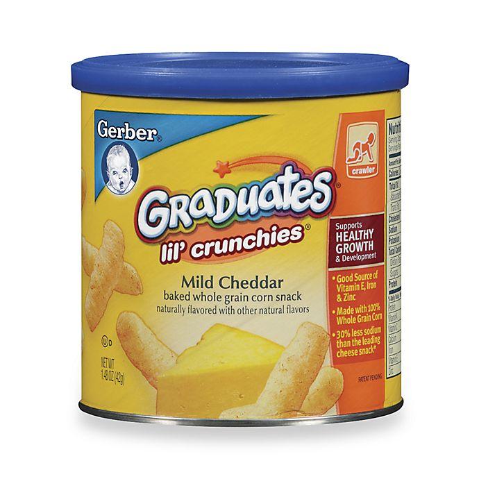 Alternate image 1 for Gerber® Graduates® Lil' Crunchies - Mild Cheddar