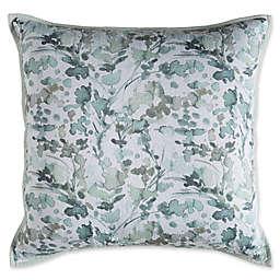 Surya Naida European Pillow Sham in Blue/White