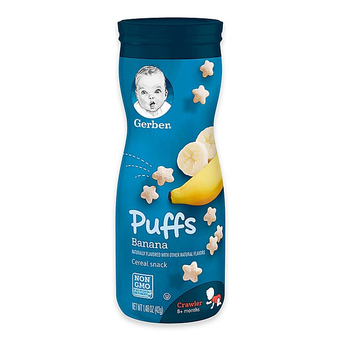 Alternate image 1 for Gerber® Graduates® Fruit Puffs - Banana