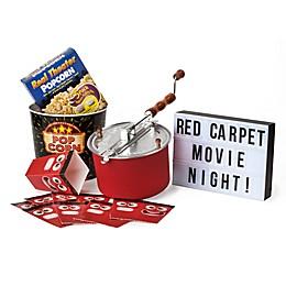 Whirley Pop™ Old Fashioned Popcorn Maker Red Carpet Movie Night Set