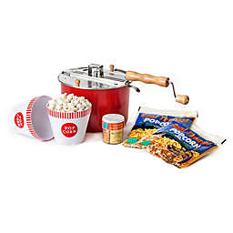 Whirley Pop™ Old Fashioned Popcorn Maker Color Changing Movie Night Set