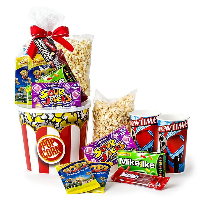 Alternate image 1 for Wabash Valley Farms™ 9-Piece Night at the Movies Popcorn Gift Set
