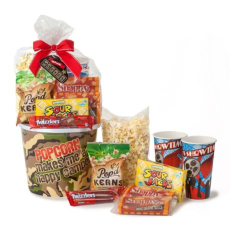 Wabash Valley Farms 8 Piece Happy Camper Popcorn Gift Set