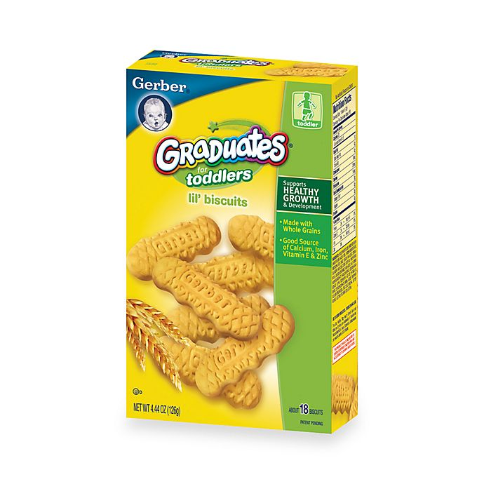 Alternate image 1 for Gerber® Graduates® Lil' Biscuits