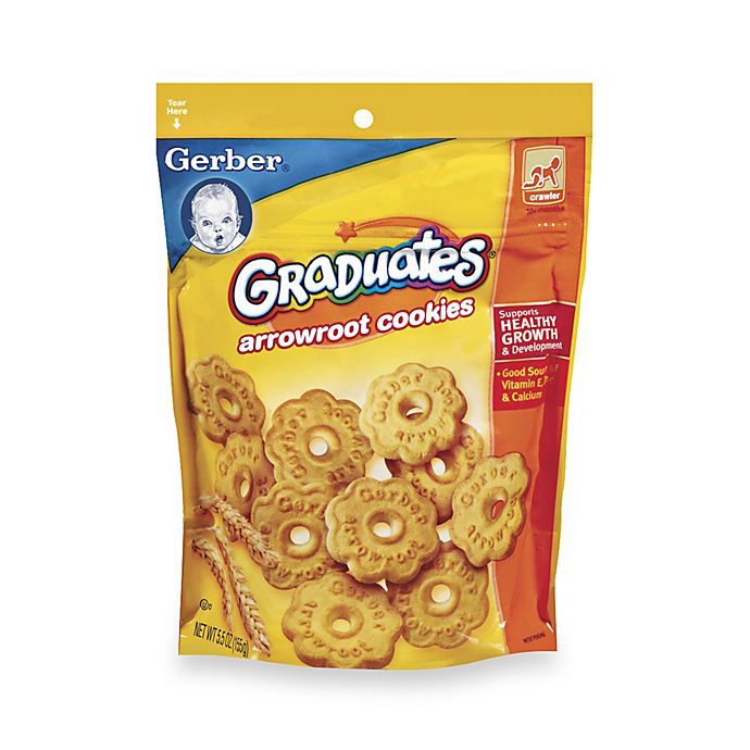 Alternate image 1 for Gerber® Graduates® Arrowroot Cookies