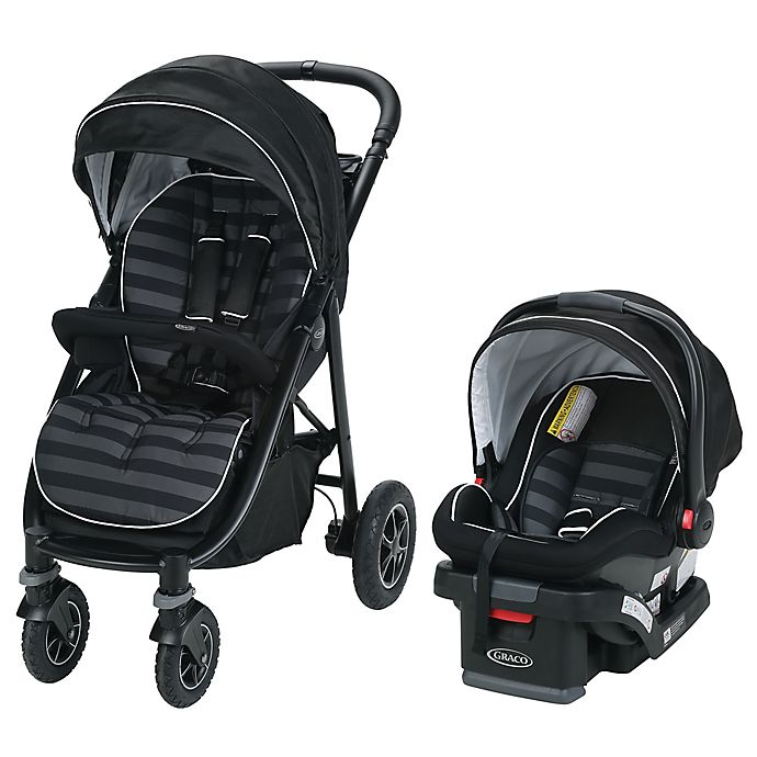 ac0fc1923 Graco® Aire4™ Platinum Travel System in Rockweave™ | Bed Bath & Beyond