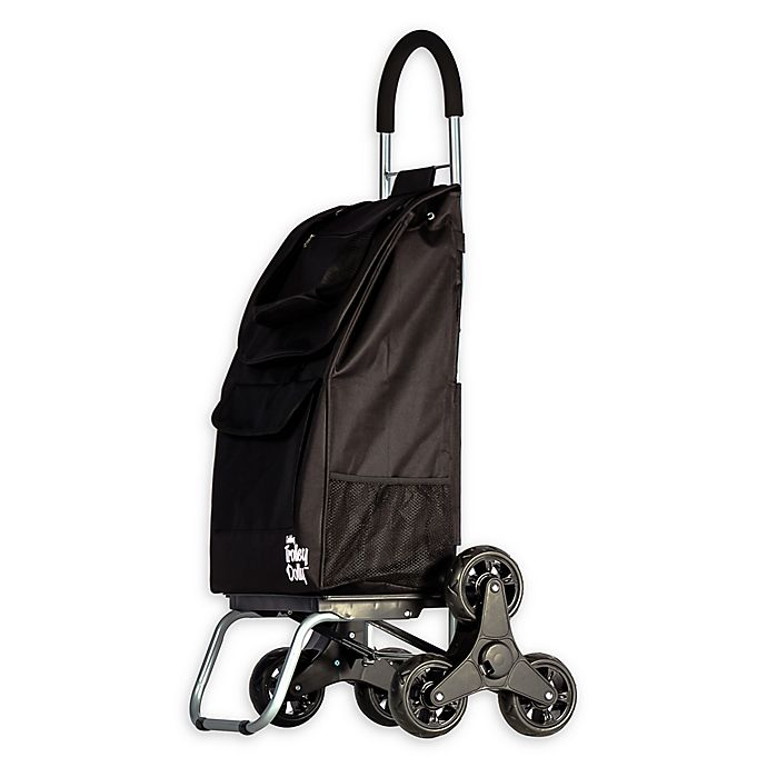 Alternate image 1 for Stair Climber Trolley Dolly 2 Laundry Cart in Black