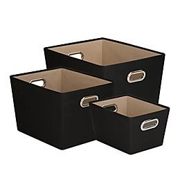 Honey-Can-Do® 3-Piece Tote Set