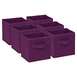 Honey-Can-Do® Foldable Mini Storage Cubes (Set of 6)