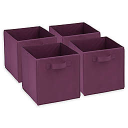 Honey-Can-Do® Foldable Storage Cubes (Set of 4)