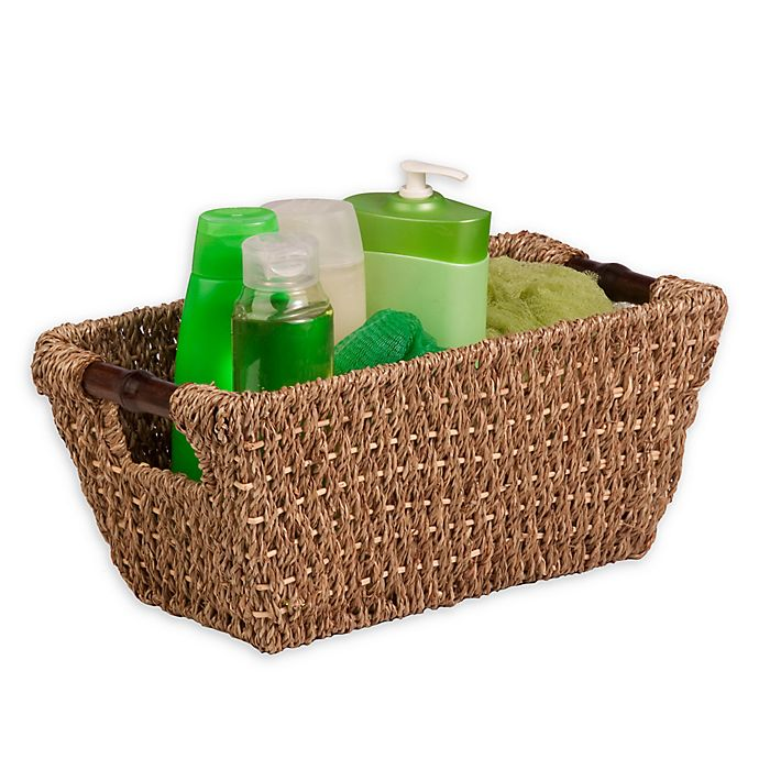 Alternate image 1 for Honey-Can-Do® Seagrass Basket with Handles