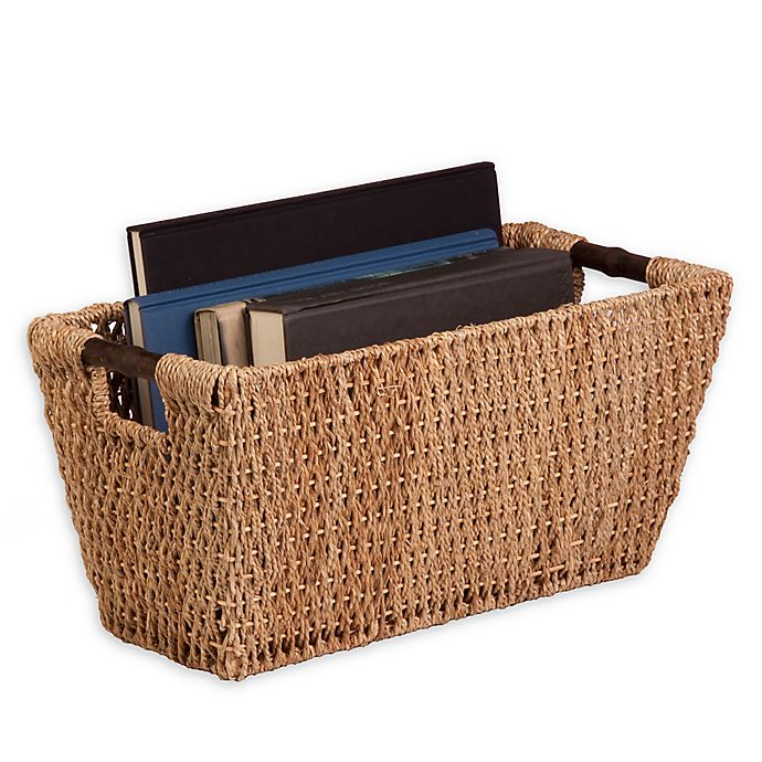 Alternate image 1 for Honey-Can-Do® Large Seagrass Basket with Handles