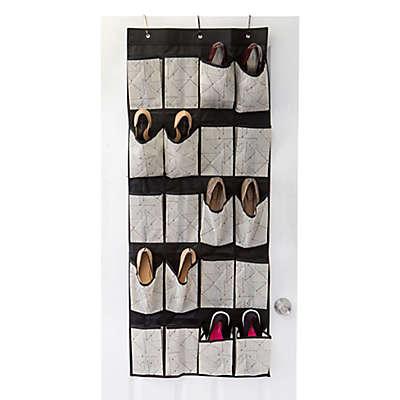 Closet Candie Geo 20-Pocket Shoe Organizer