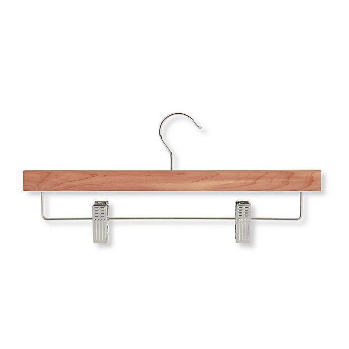 Alternate image 1 for Honey-Can-Do® Cedar Skirt/Pant Hangers with Clips