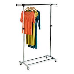 Honey-Can-Do® Commercial Garment Rack in Chrome/Black
