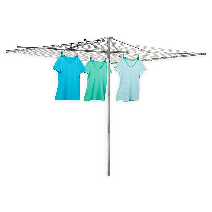 Alternate image 1 for Honey-Can-Do® Outdoor Parallel Umbrella Dryer