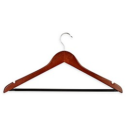 Honey-Can-Do® 8-Pack Wooden Basic Suit Hangers