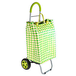 Trolley Dolly Basket Weave Laundry Cart