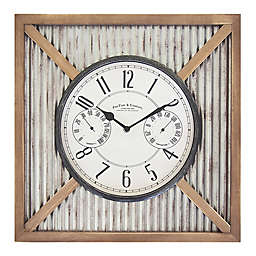 FirsTime® Barn 16-Inch Outdoor Wall Clock