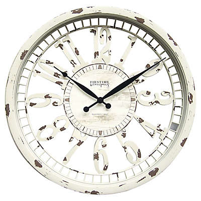 FirsTime® Whitney 20-Inch Wall Clock