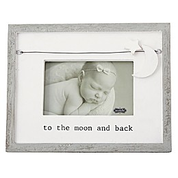 Mud Pie® Star and Moon Charm Picture Frame