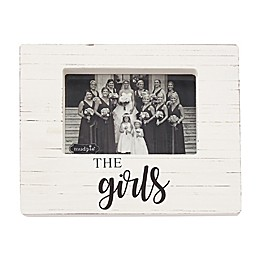 Mud Pie® The Girls 4-Inch x 6-Inch Block Picture Frame