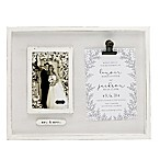 Mud Pie® Invitation Clip 4-Inch x 6-Inch Picture Frame