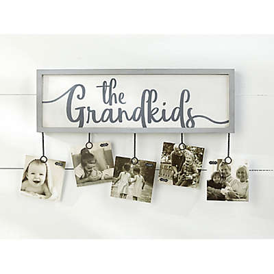Mud Pie® Grandkids 5-Clip Photo Holder