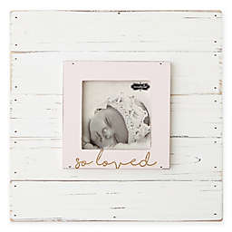 Mud Pie® So Loved 3-Inch x 3-Inch Picture Frame