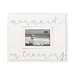 Mud Pie® Mermaid In Training 4.75-Inch x 2.75-Inch Picture Frame