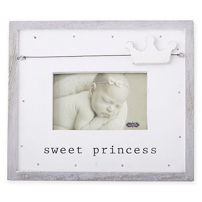 Mud Pie® Sweet Princess Picture Frame | buybuy BABY